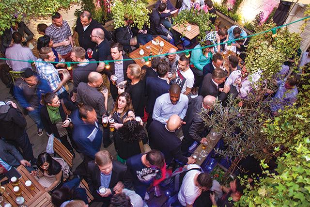 Gay Bar Beer Garden