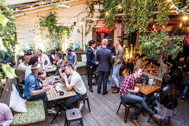 Gay bars in soho Central London