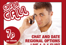gay call gay chat line 7p per minute
