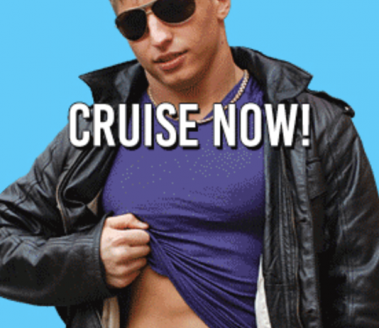 cruise on gay chat line