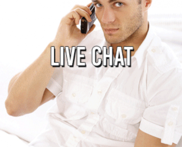 Anonymous gay chat room