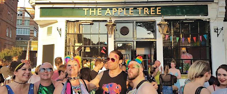 Gay Bar Central London Apple Tree