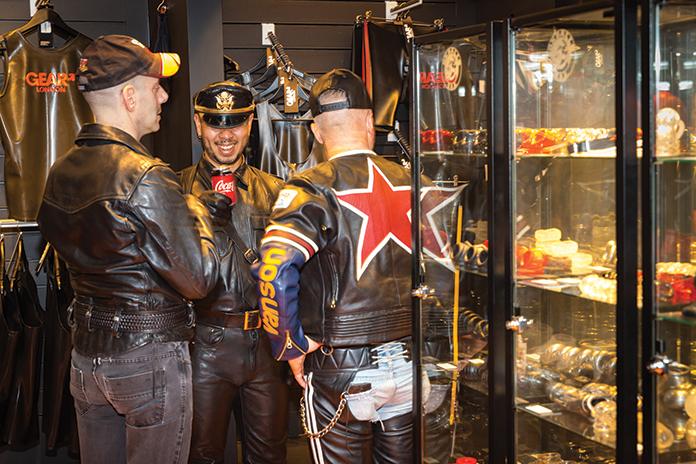 Gay fetish gear East End London