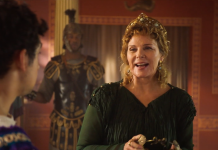 Kim Cattrall Horrible Histories
