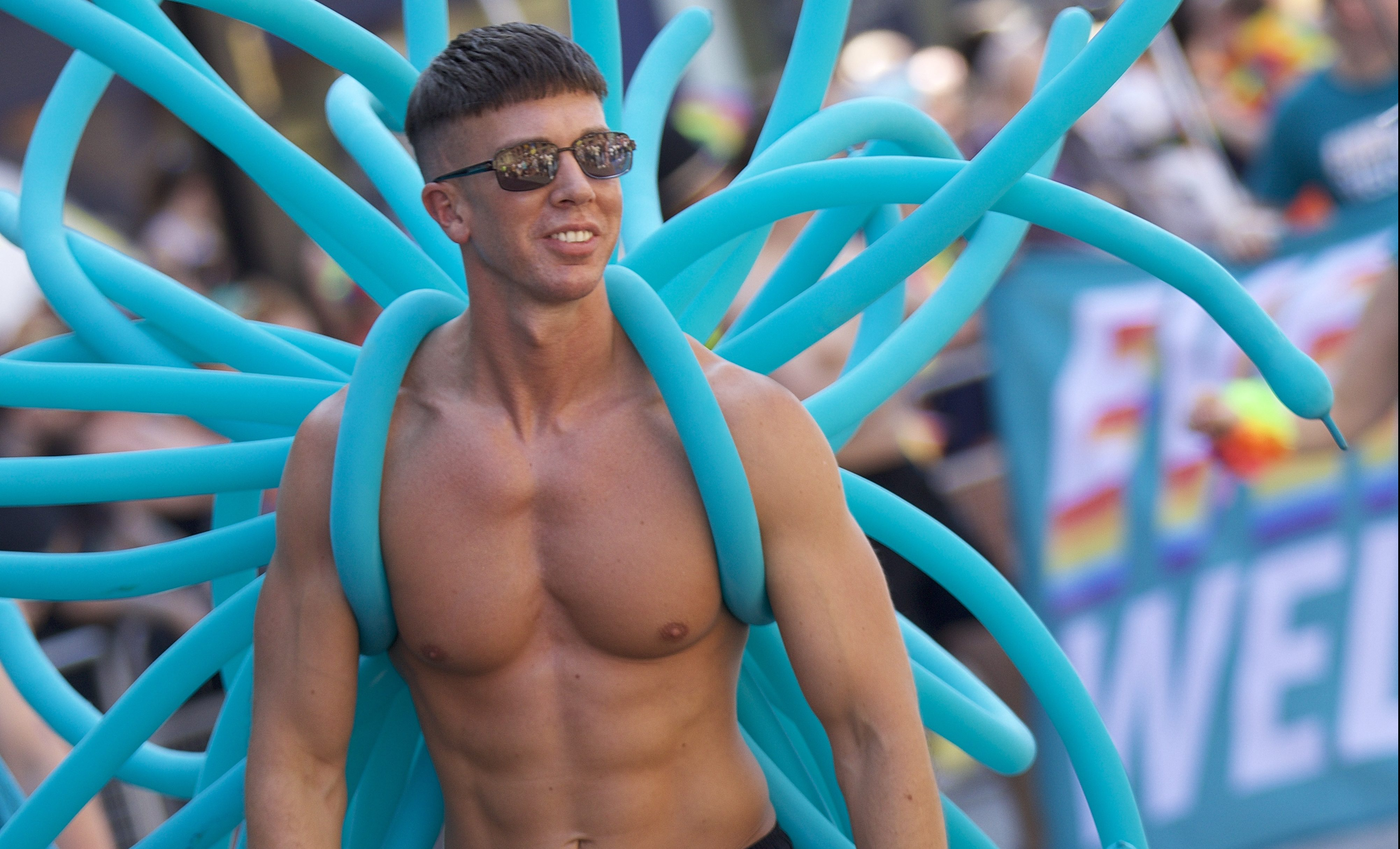 Adam Lambert Manchester Pride Festival 2020