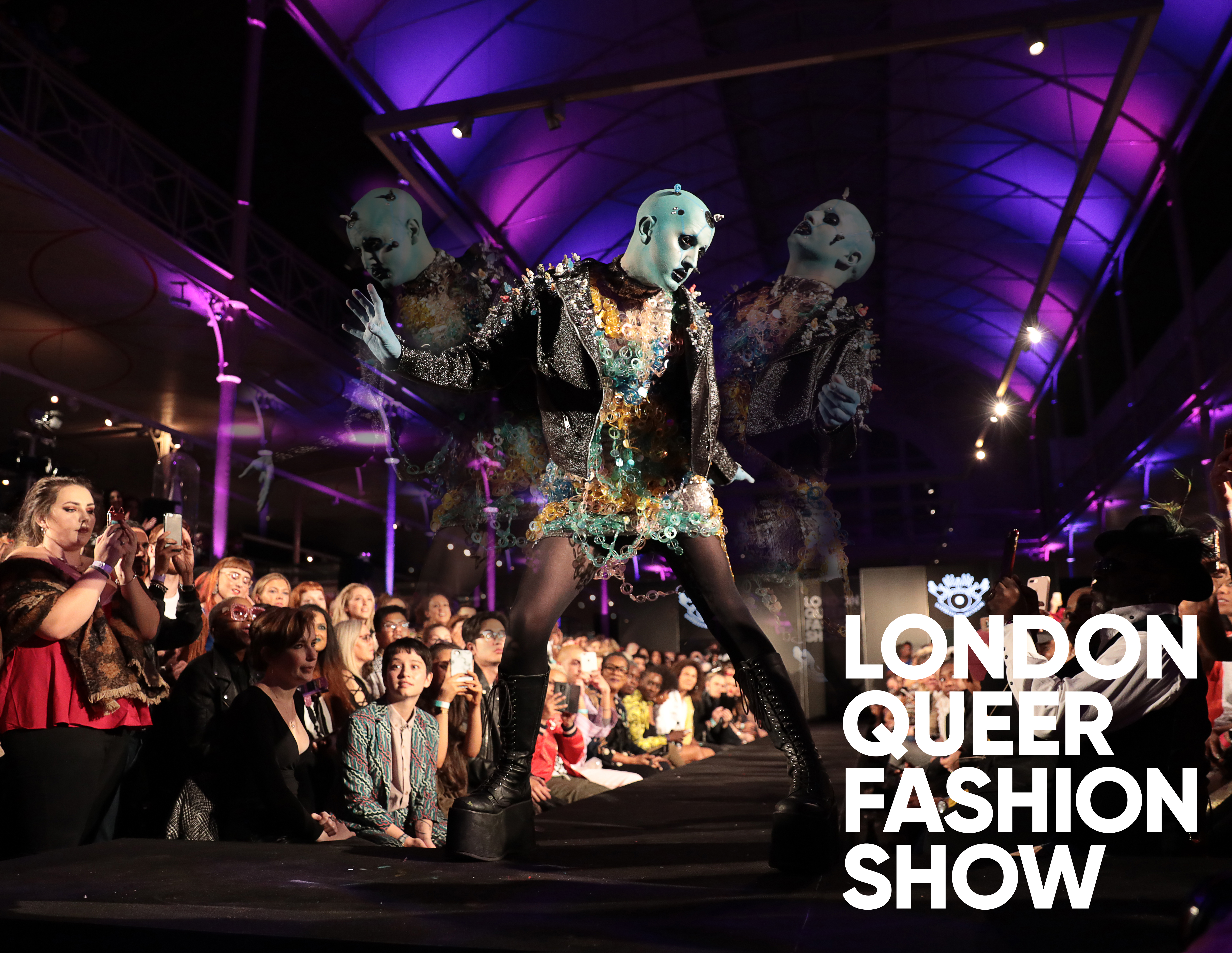 London Queer Fashion Show 2018 at the V&A Museum of Childhood on 20th of September