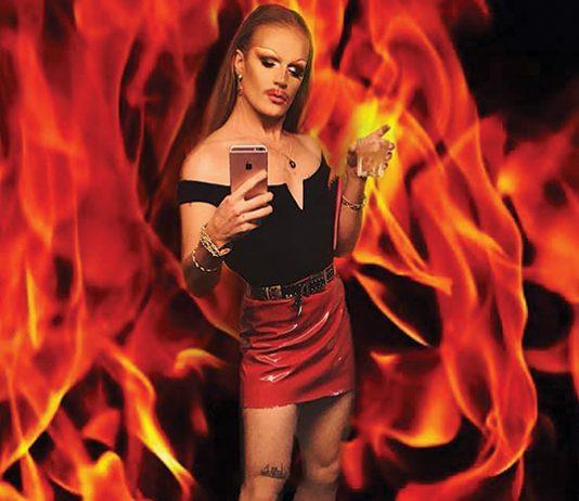 Climate conscious drag queen
