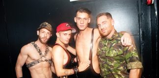 new fetish night in gay London