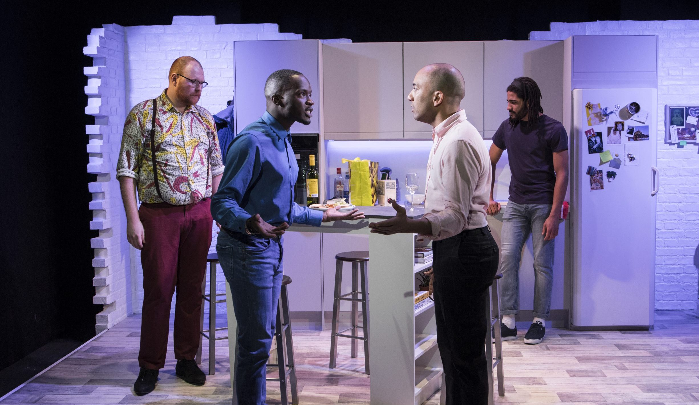 Gay Theatre London Four Play at Above The Stag review