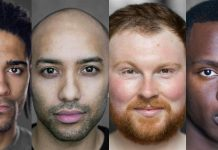 Gay theatre show London Four Play Above The Stag