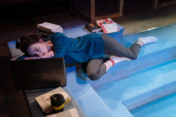 Scenes with girls at Royal Court Theatre review