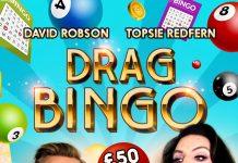 Drag bingo at a gay bar