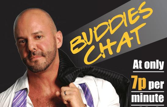 Gay Phone Chat Line : Buddies Chat - QX Magazine