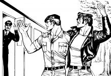 Untitled, from Sex on the Train, Tom of Finland © 1974-2020 Tom of Finland Foundation