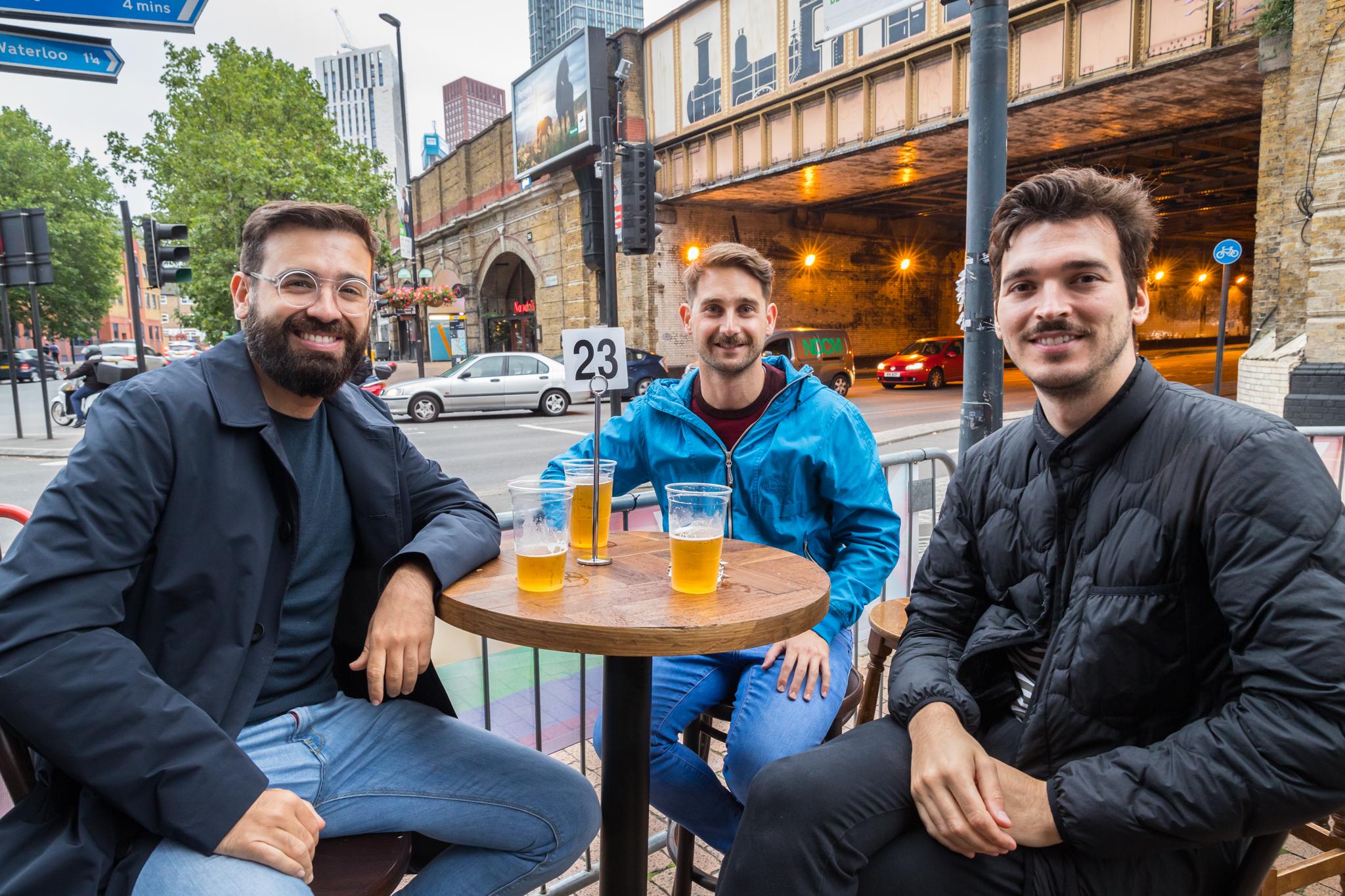 Gay bar London with terrace