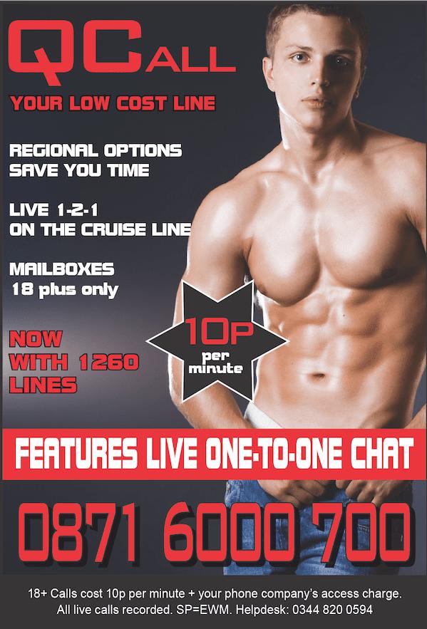Call 10p cheap gay chat